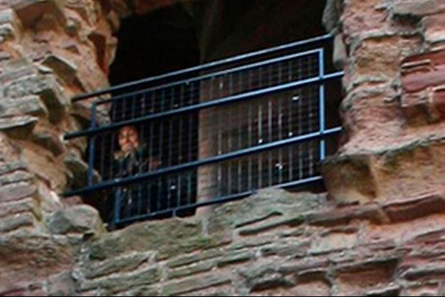Fantôme présumé photographié au Tantallon Castle par un touriste.