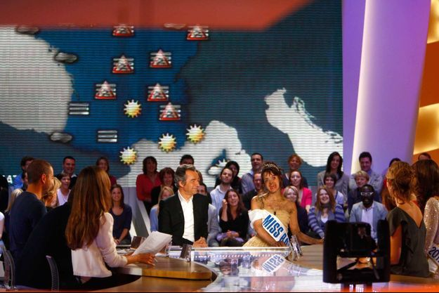 "Le plateau du ""Grand journal""."
