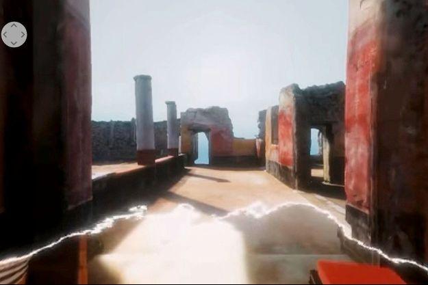 Rendez-vous sur le site du Grand Palais pour découvrir, à l'occasion de l'exposition « Pompéi »
