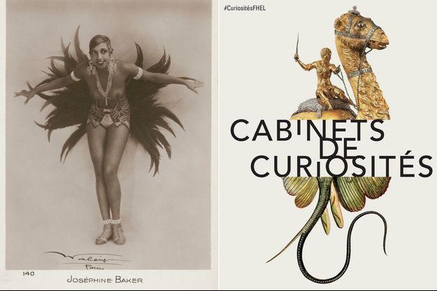 """L'affiche de """"Modèle noir"""" """"Cabinets de curiosités"""""""