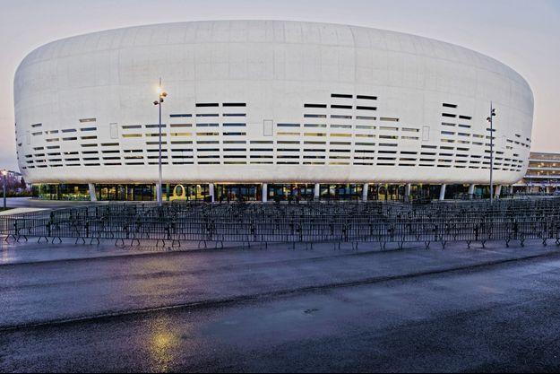 La Métropole Arena, conçue par l'architecte Rudy Ricciotti.