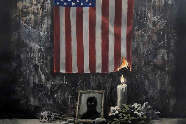La dernière oeuvre de Banksy.