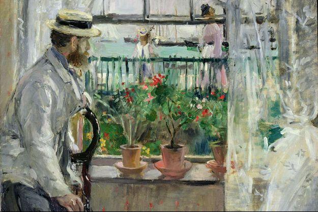 """""""Eugene Manet à l'île de Wight"""", 1875"""