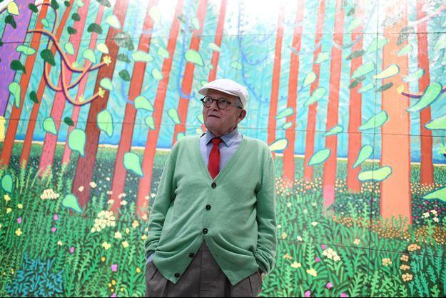 David Hockney - Arrival of spring in Woldgate