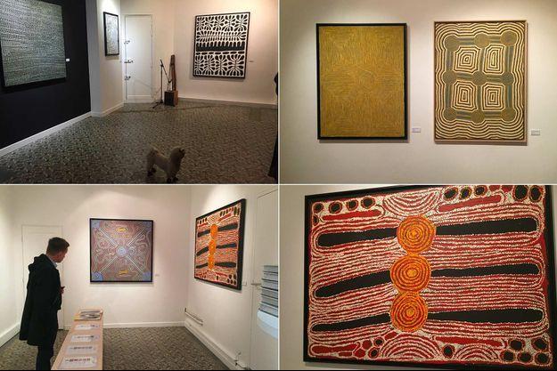 «Yapa Dreaming, rêve aborigène», à la galerie Gare de Marlon.