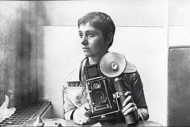 Diane Arbus en 1968 photographiée par Roz Kelly