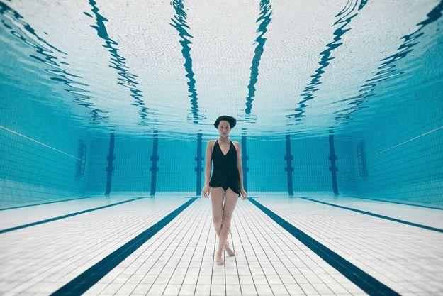 Photo réalisée à la piscine Jean-Médecin de Nice, le 9 mai.