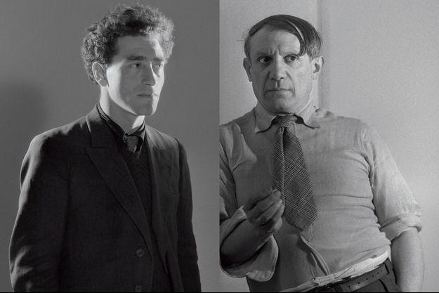 Giacometti et Picasso