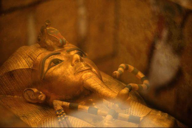 Le sarcophage de Toutânkhamon (photo d'illustration)