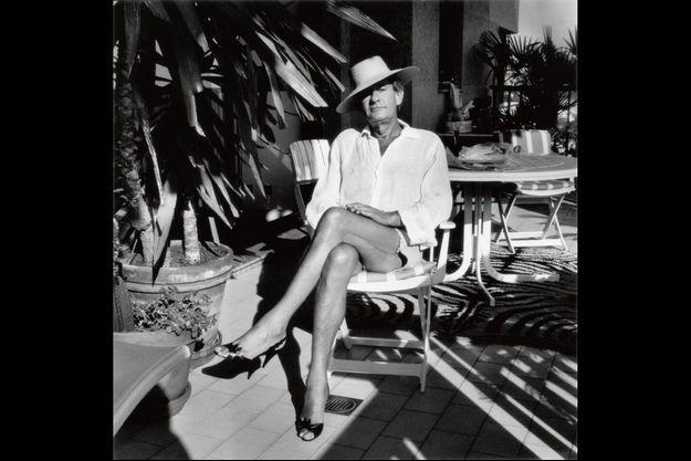 Helmut Newton, shooté par sa femme, en 1987