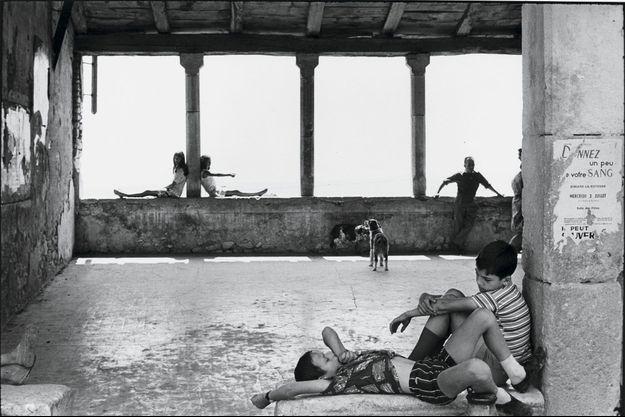 """Simiane-la-Rotonde, France"", 1969."
