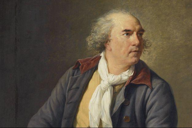 Portrait d'Hubert Robert par Elisabeth Vigée (1788).