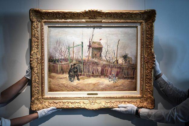 La toile «Scène de rue à Montmartre» de Van Gogh.