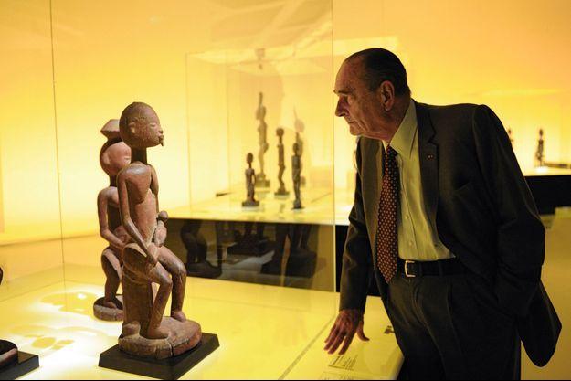 Jacques Chirac au Quai Branly