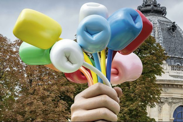 Jeff Koons : les fleurs de la discorde