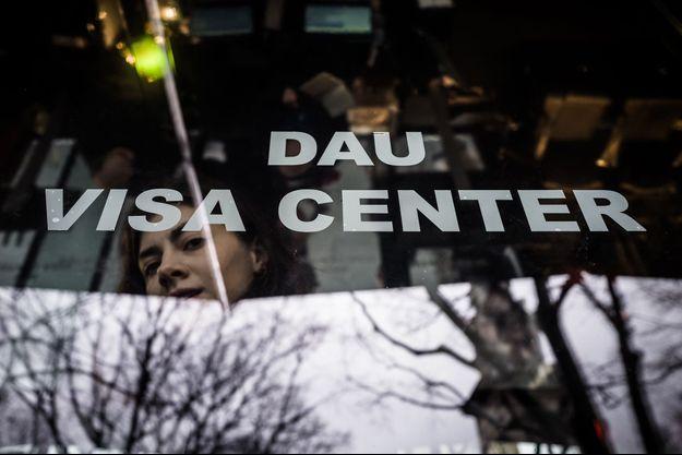 """Le """"visa center"""" de """"Dau""""."""
