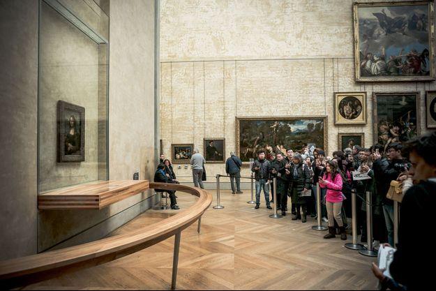 """""""La Joconde"""" le tableau le plus célèbre du monde."""