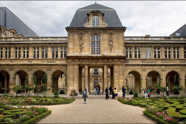 Jardins du musée Carnavalet à Paris.