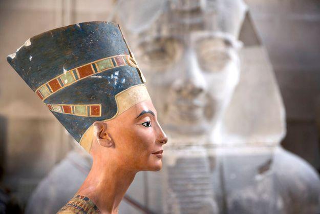 Un buste de Néfertiti