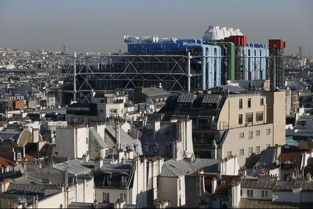 Le Centre Pompidou, à Paris.