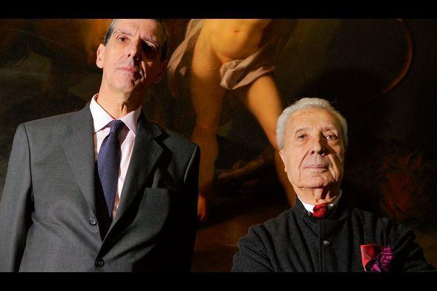 Henri Loyrette et Marc Fumaroli