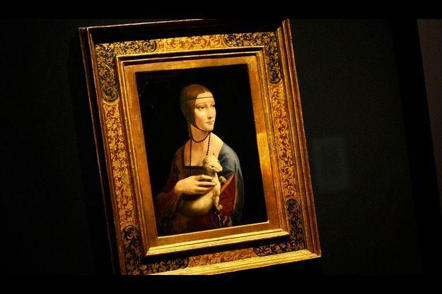 « La dame à l'hermine », peinte entre 1489 et 1490