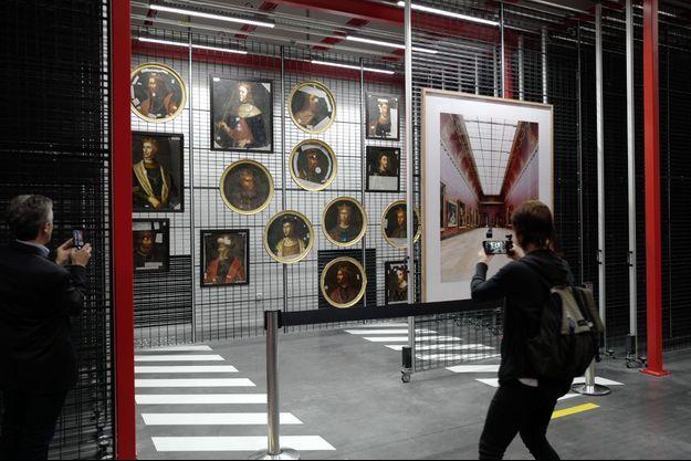 Le centre de conservation du Louvre à Liévin, construit par le cabinet Rogers Stirk Harbour & Partners.