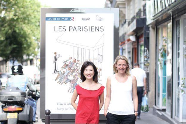Kanako Kuno et Amandine Pechiodat, de My Little Paris.