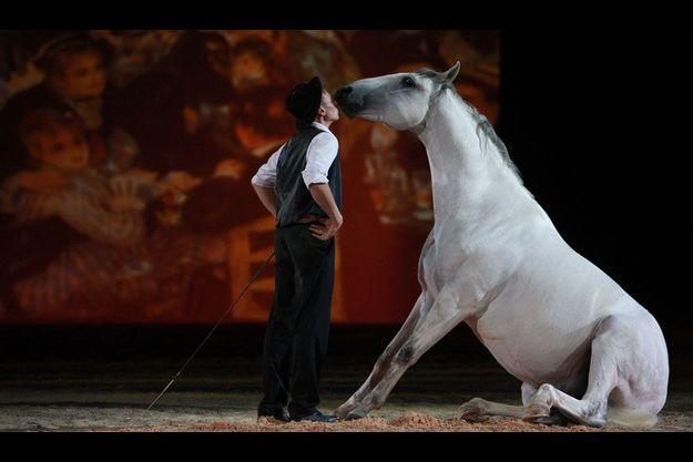 Spectacle «A cheval vers les étoiles», du 18 au 23 décembre, au haras national de Hennebont.