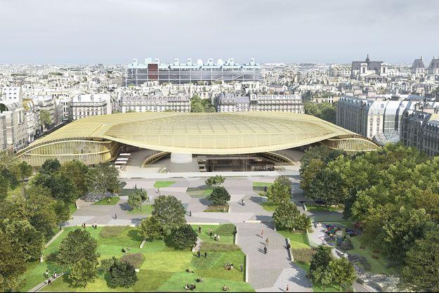 Canopée des Halles, Paris Ier.