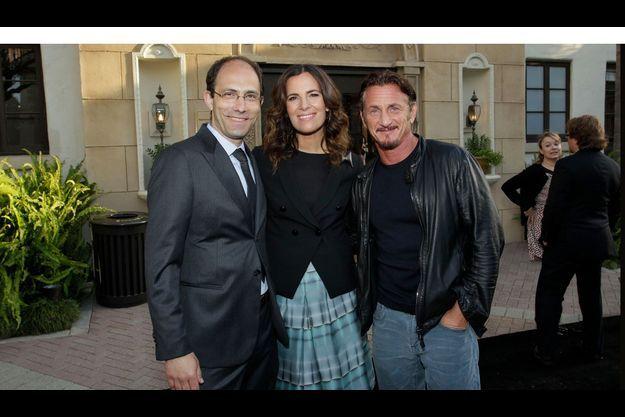 Julien Frydman, Roberta Armani, Sean Penn