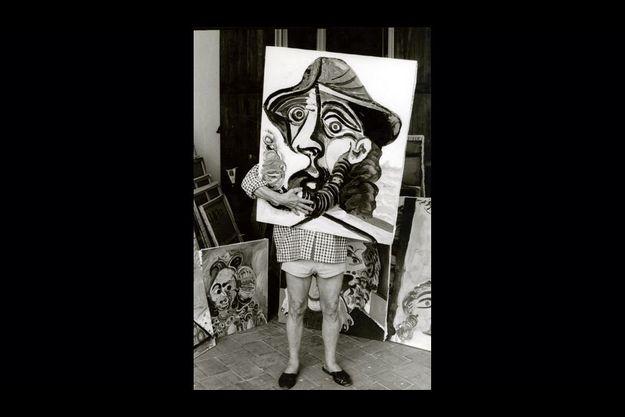 Picasso, un gamin nonagénaire en pleine forme. Paris Match lui consacrera un deuxième numéro.