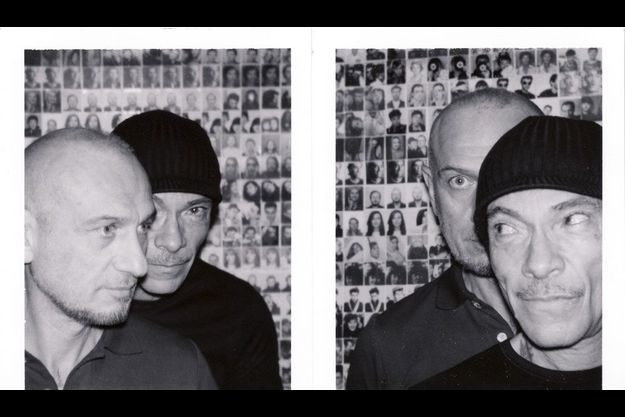 Pierre et Gilles chez eux, en 2012.