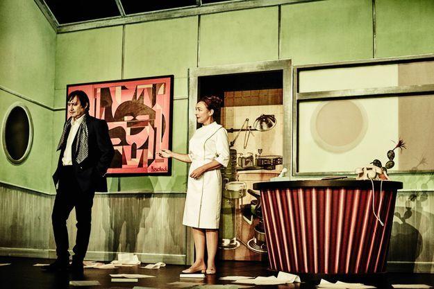 Catherine Frot, dans « Fleur de cactus », a joué dès dimanche 15 novembre.