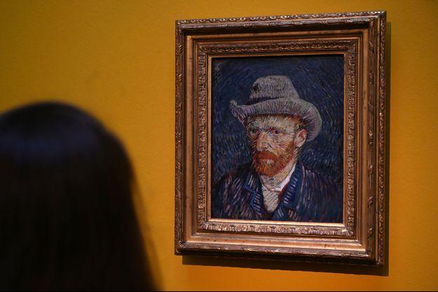Portrait de Van Gogh.