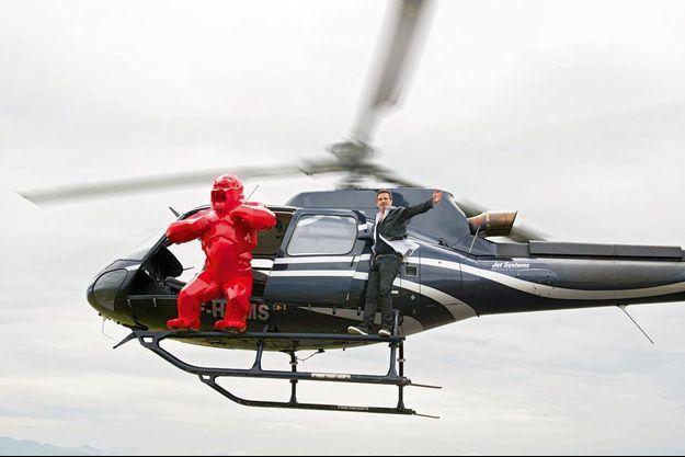Richard Orlinski Virée en altitude, à Valence,