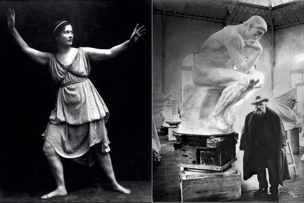 Isadora Duncan, le Penseur, Rodin