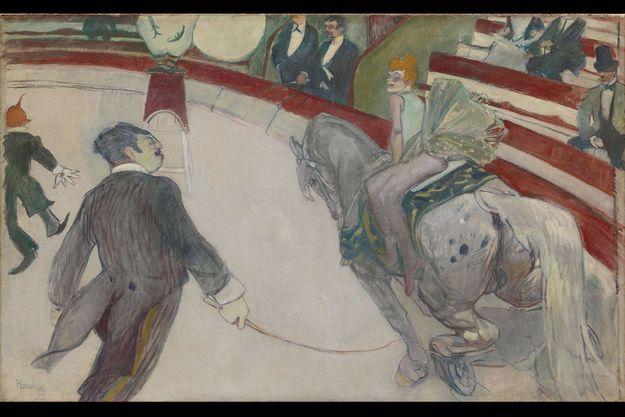 « Au cirque Fernando », 1887-1888.