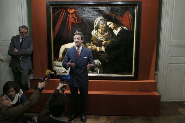 L'expert Eric Turquin présente « Judith tranchant la tête d'Holopherne », le Caravage retrouvé près de Toulouse.