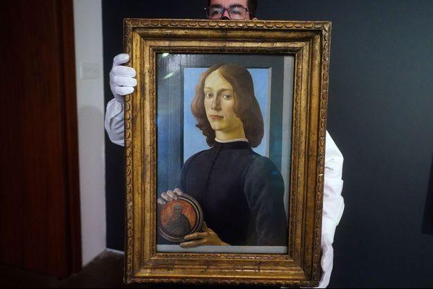 Le tableau de Botticelli a été vendu plus de 92 millions de dollars aux enchères à New York.