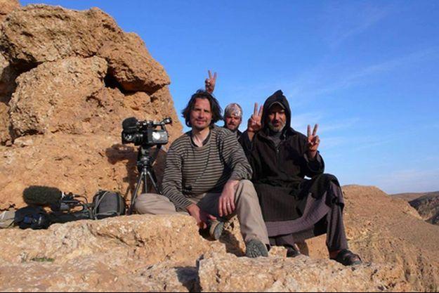 """Sur les montagnes de """"Zintan"""" à 160 km au Sud Ouest de Tripoli."""