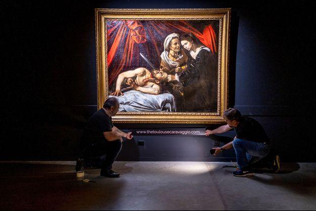 Le tableau «Judith et Holopherne» attribué au Caravage.