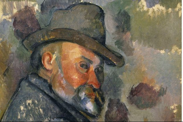 Cézanne, autoportrait (1890-1894).