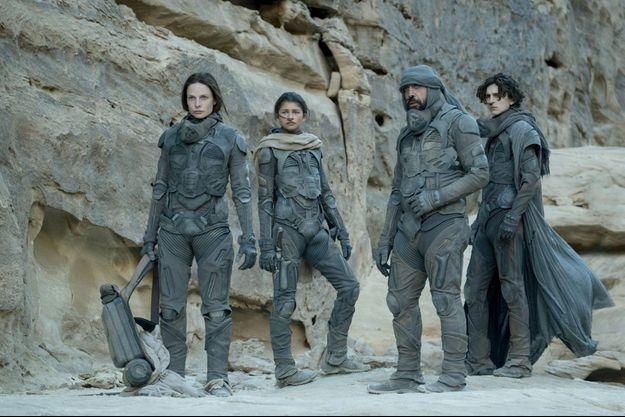 """Les scènes de désert de """"Dune"""" ont été tournées en Jordanie."""