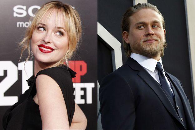 Dakota Johnson et Charlie Hunnam, prêts pour la gloire (montage).