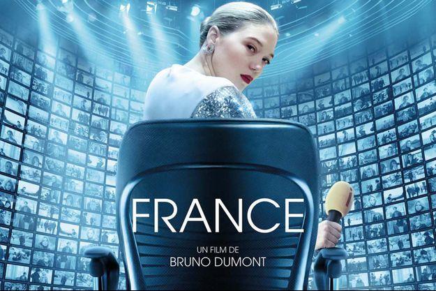 """Léa Seydoux, ici à l'affiche de """"France"""", sera l'une des grandes stars du 74e Festival de Cannes."""