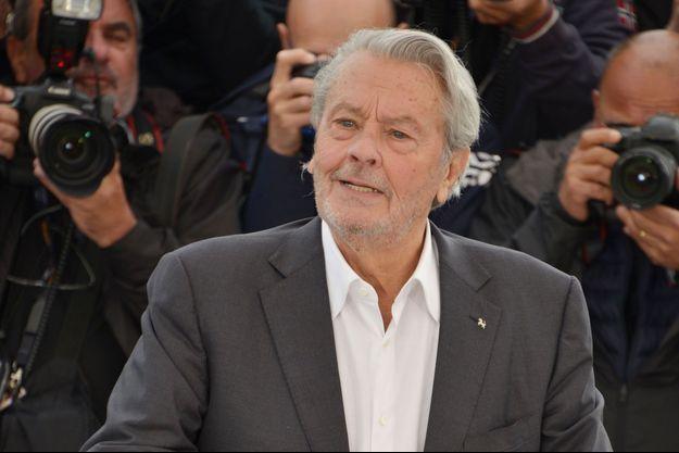 Alain Delon au Festival de Cannes 2019.