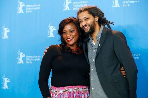 Véronique Beya Mputu et Alain Gomis lors du Festival de Berlin 2017