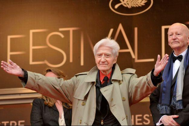 Alain Resnais en 2012, au Festival de Cannes.