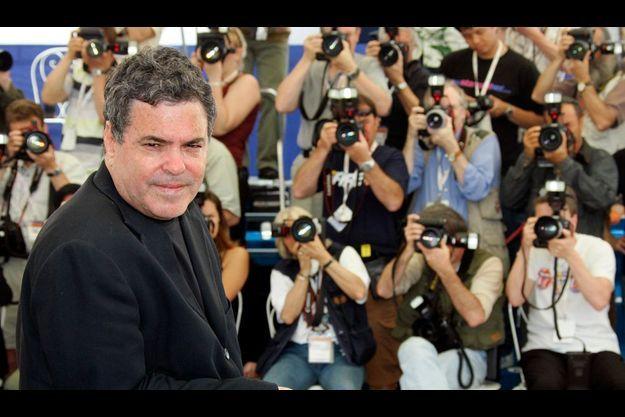 """Le réalisateur israëlien Amos Gitai au festival de Cannes en 2005 où il est venu présenté son film """"Free Zone"""""""
